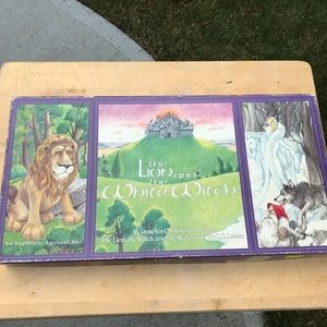 Vintage board game The Lion and the White Witch